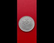 www.aukcije.hr - Numizmatika: RUMUNJSKA - 500 LEI 1944g. SREBRNA KOVANICA / 502.