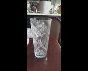 www.aukcije.hr - Kuća, ured i vrt: Velika kristalna vaza težine 2,8 kg